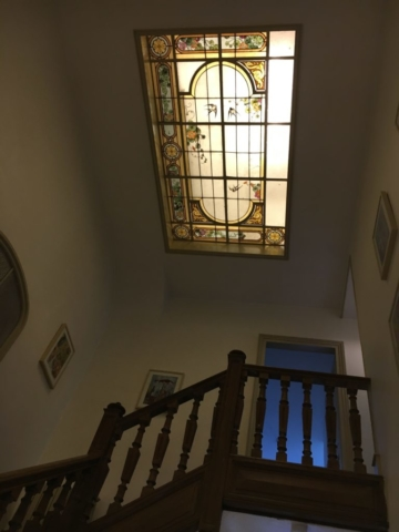 Treppenhaus Dachfenster Jugendstil