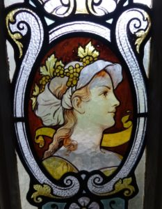 Château Fensterverzierung